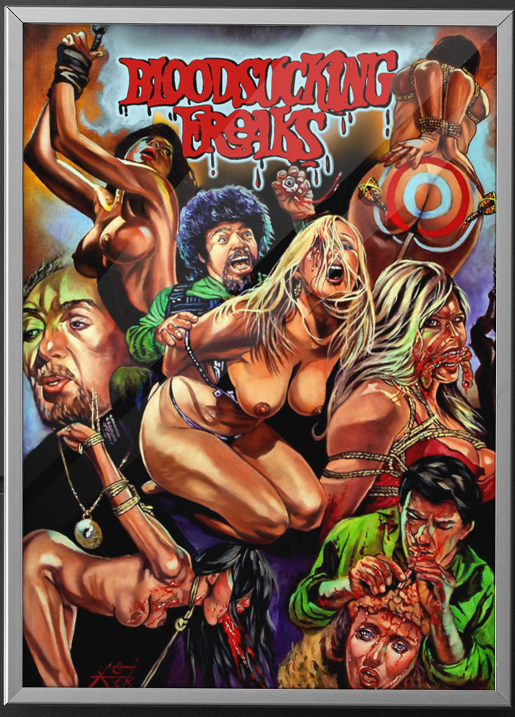 Basket Case - Duane and Belial Poster-Blood Moon Shirts