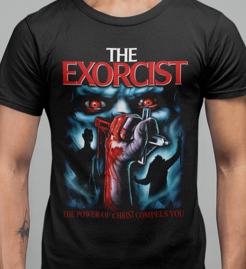 The Exorcist - Christ Compels You Limited Edition T-shirt-Blood Moon Shirts