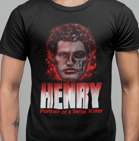 Henry - Portrait Of A Serial Killer T-shirt-Blood Moon Shirts