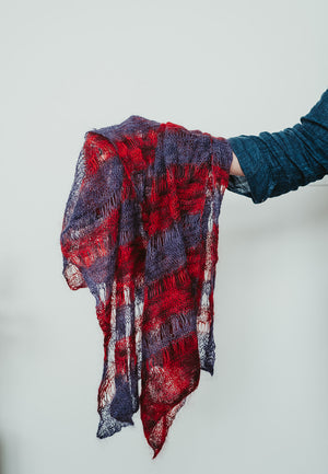 Mohair & Silk Scarves
