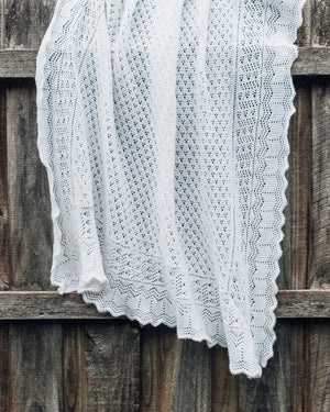 The Lacy Sleep Tight Baby Blanket