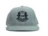 HardBody Signature Snapback - Heather Grey/Black