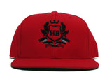 HardBody Signature Snapback - Red/Black