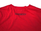 Hardbody Signature Lifestyle Tee - Red/Black Logo