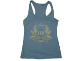 Hardbody Racerback Tank Top - Grey