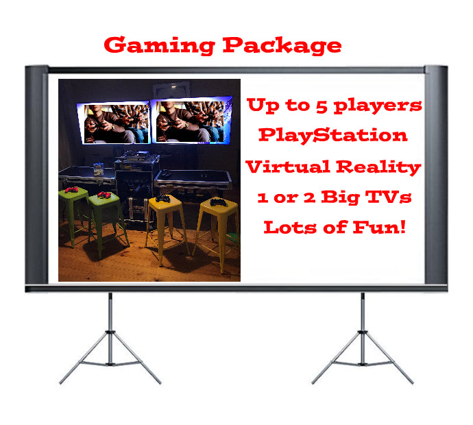3Princes Outdoor and Indoor Cinema Hire Melbourne Gaming Package