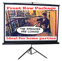 Front Row Package:  3 Metre Indoor Home Cinema <10-30 guests