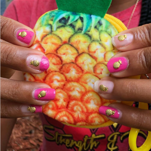 Pineapple Nail Box