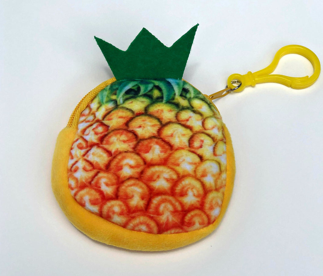 Pineapple Coin Bag