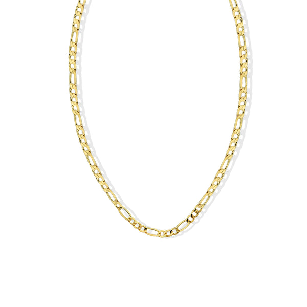 THE ESSENTIAL CURB CHAIN NECKLACE