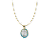 THE TURQUOISE SAINT NECKLACE