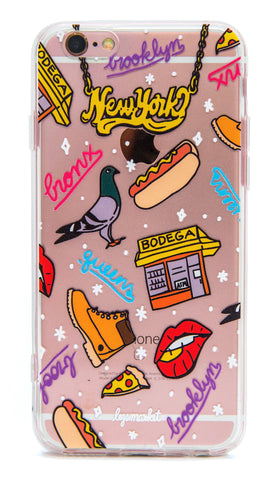 BOROUGHS CASE - LEGSMARKET - New York iPhone Case - cute phone case - nyc phone case