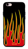 FLAME CASE - LEGSMARKET - flames iPhone Case - cute phone case - fire phone case - flame iphone - fire iphone - fire phone case
