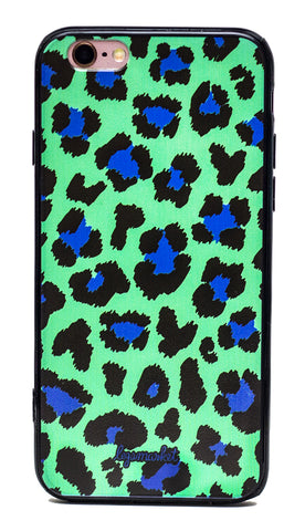 GREEN LEOPARD CASE