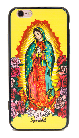 OUR LADY CASE - LEGSMARKET - Our Lady iPhone Case - cute phone case - guadelupe phone case - our lady guadelupe - hip iphone case - praying iphone case - prayer hands phone case - praying phone case - religious phone case