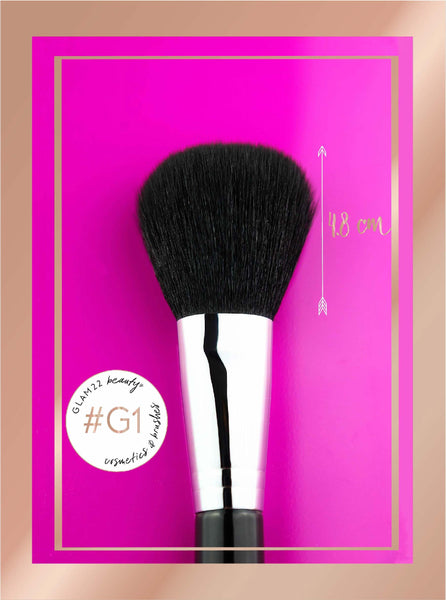 Large Powder Brush #G1