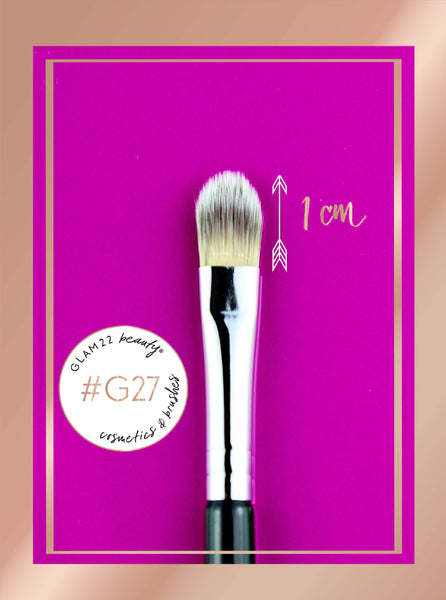 Small Flat Concealer Brush #G27
