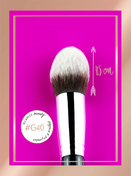 Large Tapered Kabuki Brush #G40