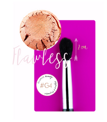 "#G4 BRUSH & GLITTER PIGMEN SET GLAM22® ""GLAM FOR A CAUSE"""