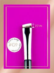Tiny Flat Angled Brush #G9