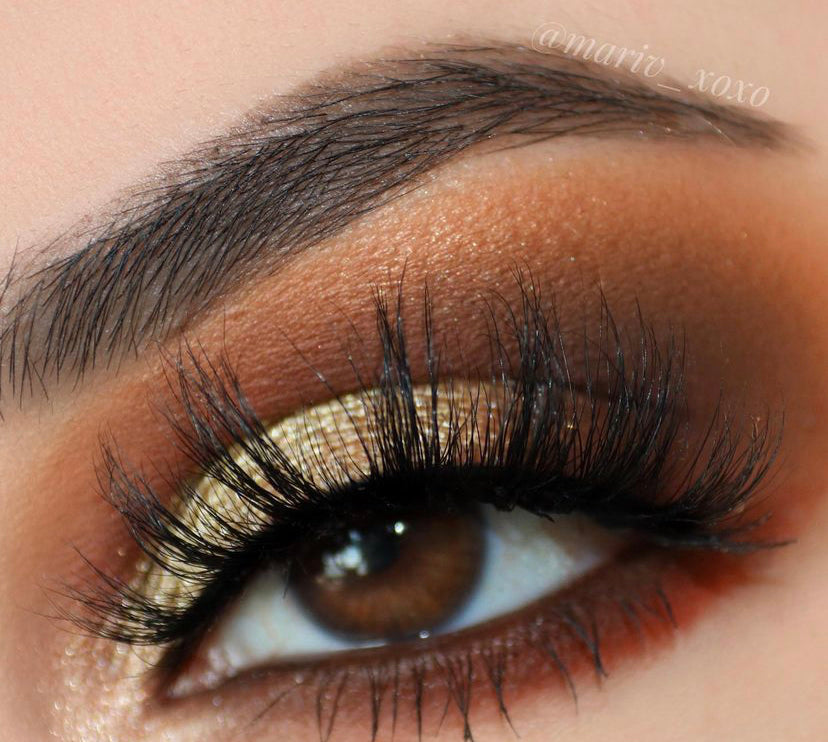 """Heart-O-Gold"" GLAM22® Loose Glitter Mineral Pigment"