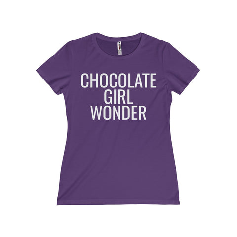 Chocolate Girl Wonder Missy Tee
