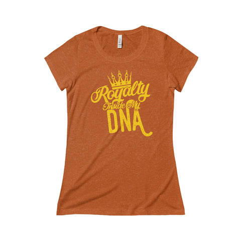 Royalty Inside My DNA Triblend Short Sleeve Tee