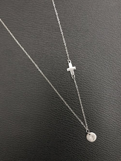 Nicole Necklace with Cross Charm