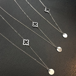 Layla Necklace with Cross Charm