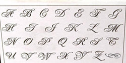 Royal Crest - Uppercase only - 4mm size