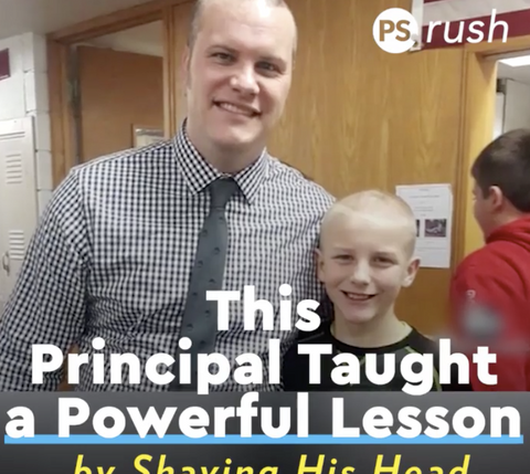 When a sixth-grade student was bullied over his new hairstyle, Principal Hadley took matters into his own hands.
