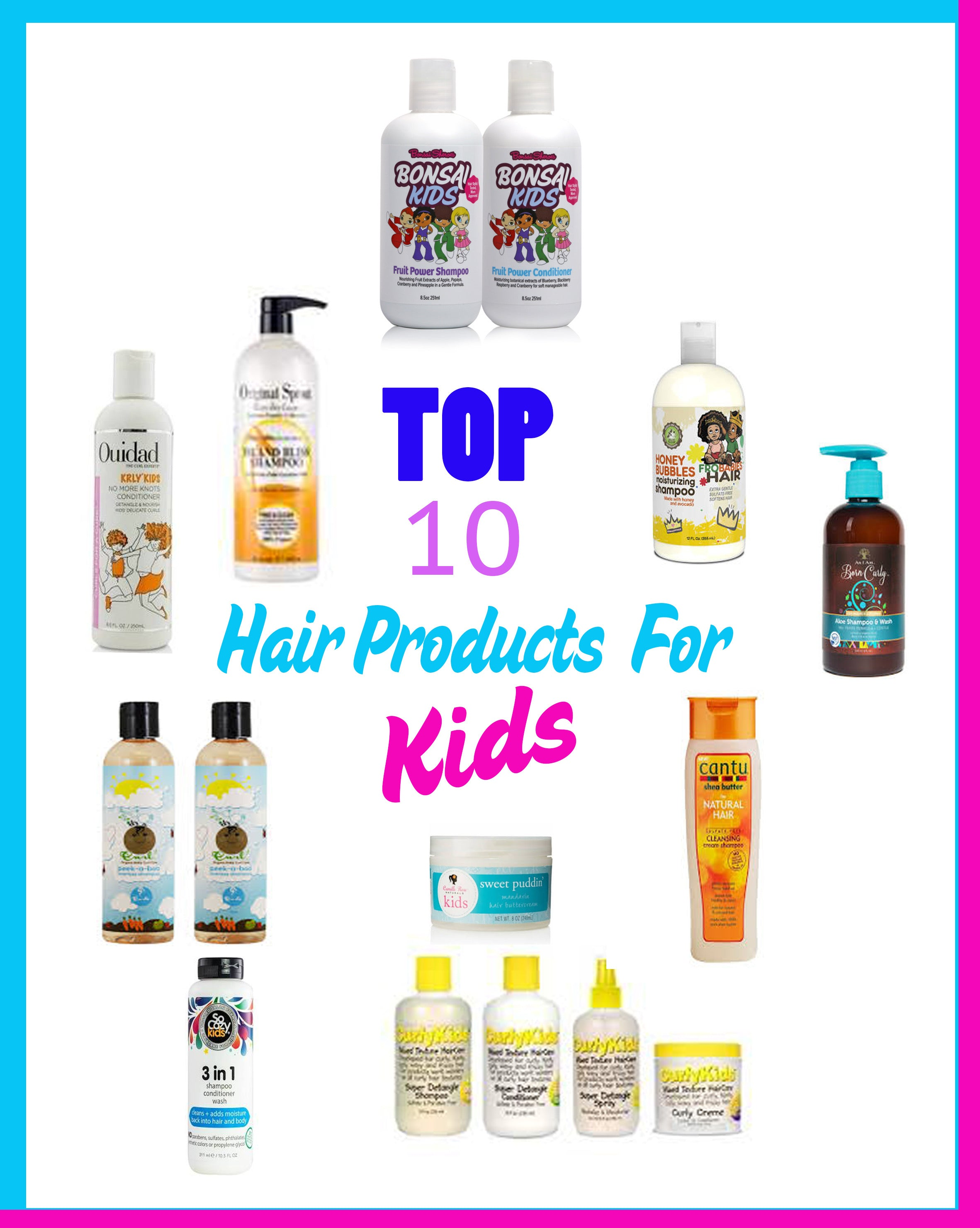 TOP 10 HAIR PRODUCTS FOR HAIR