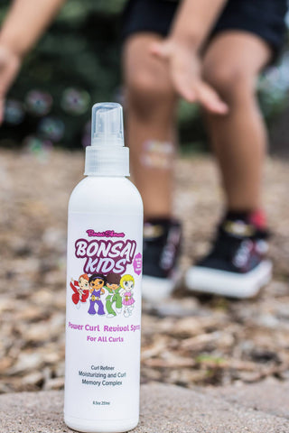 Bonsai Kids Curl Revival Spray