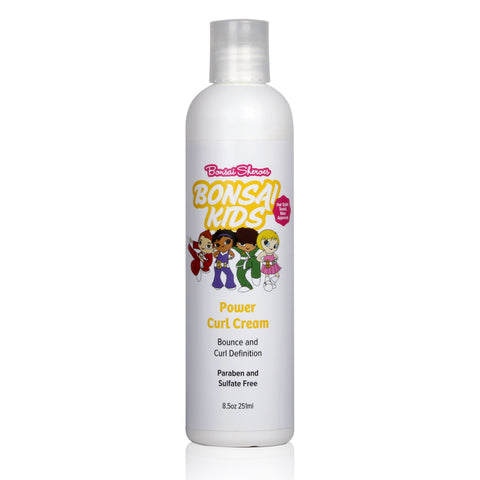 Bonsai Kids Power Curl Cream - Bonsai Kids Hair Care Products