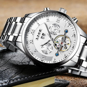 LiGE™ Men's Automatic Mechanical 004