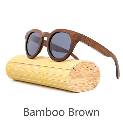 5abcd02046 Retro Bamboo Sunglasses - Round – Go Cool Gear