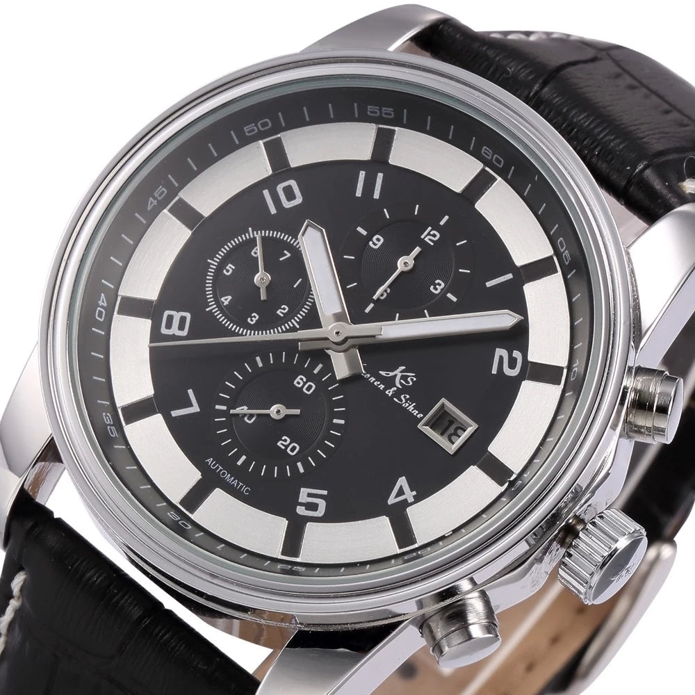 Kronen & Söhne™ Men's Automatic Mechanical 003