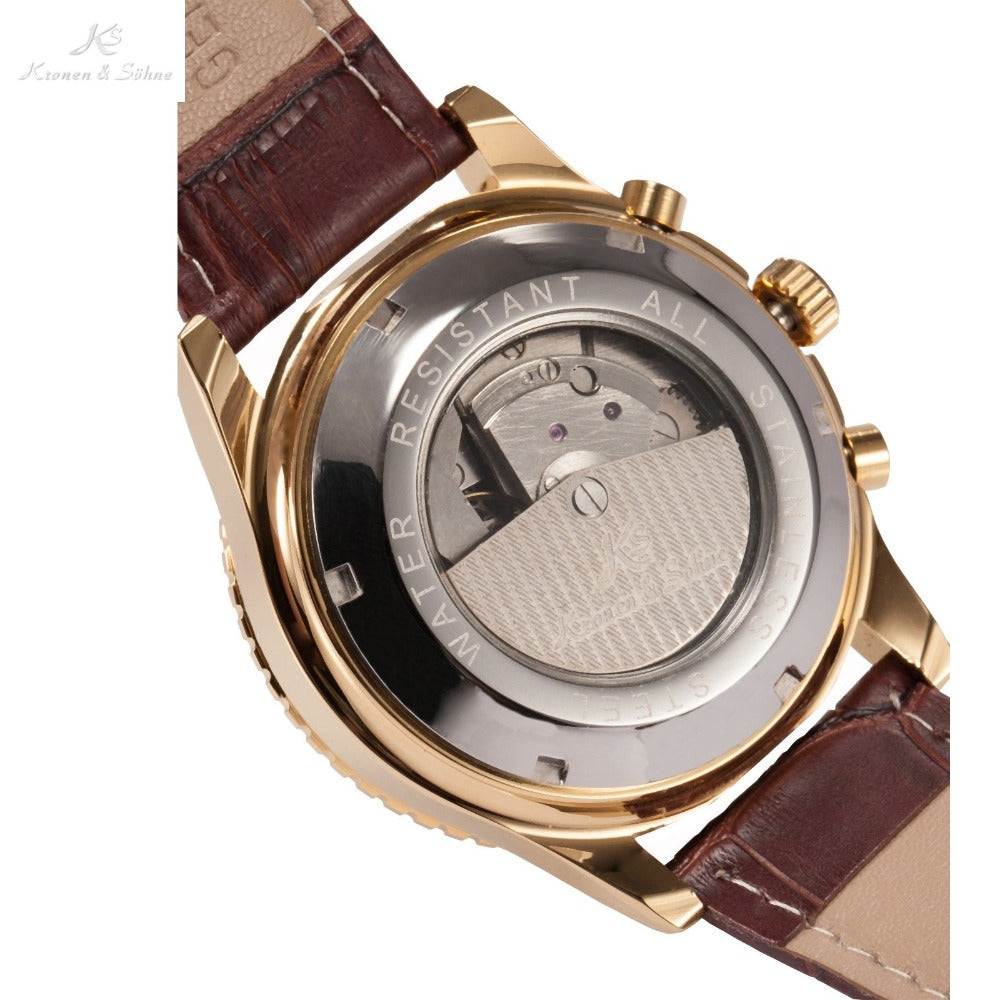 Kronen & Söhne™ Men's Automatic Mechanical 007