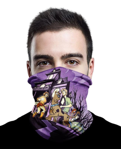 A Night In A Deserted House Neck Gaiter Bandana - Bandana - 1 Pack / All Over Print - www.secrettees.com