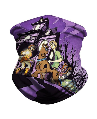 A Night In A Deserted House Neck Gaiter Bandana - Bandana - www.secrettees.com