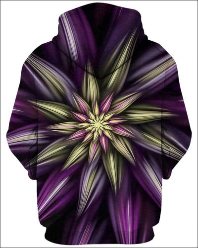 Abstract Floral - All Over Apparel - www.secrettees.com