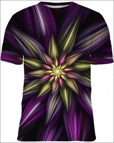 Abstract Floral - All Over Apparel - Kid Tee / S - www.secrettees.com