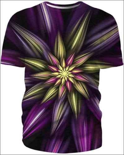 Abstract Floral - All Over Apparel - T-Shirt / S - www.secrettees.com