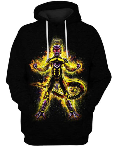 Assassin Frieza - All Over Apparel - Hoodie / S - www.secrettees.com