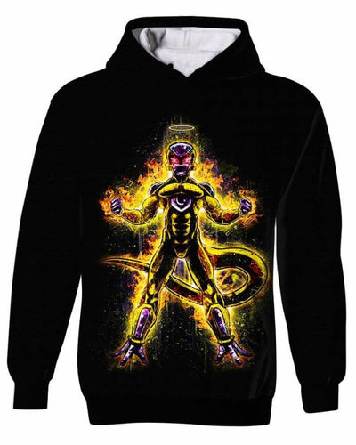 Assassin Frieza - All Over Apparel - Kid Hoodie / S - www.secrettees.com