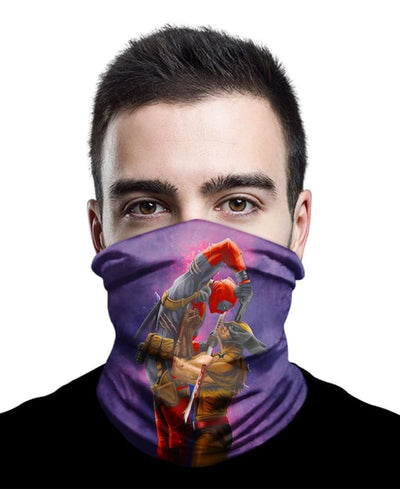Badass Fighting Neck Gaiter Bandana - Bandana - 1 Pack / All Over Print - www.secrettees.com