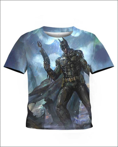 Bat Iron Armor - All Over Apparel - Kid Tee / S - www.secrettees.com