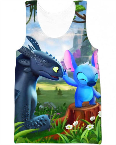Be My Pet - All Over Apparel - Tank Top / S - www.secrettees.com