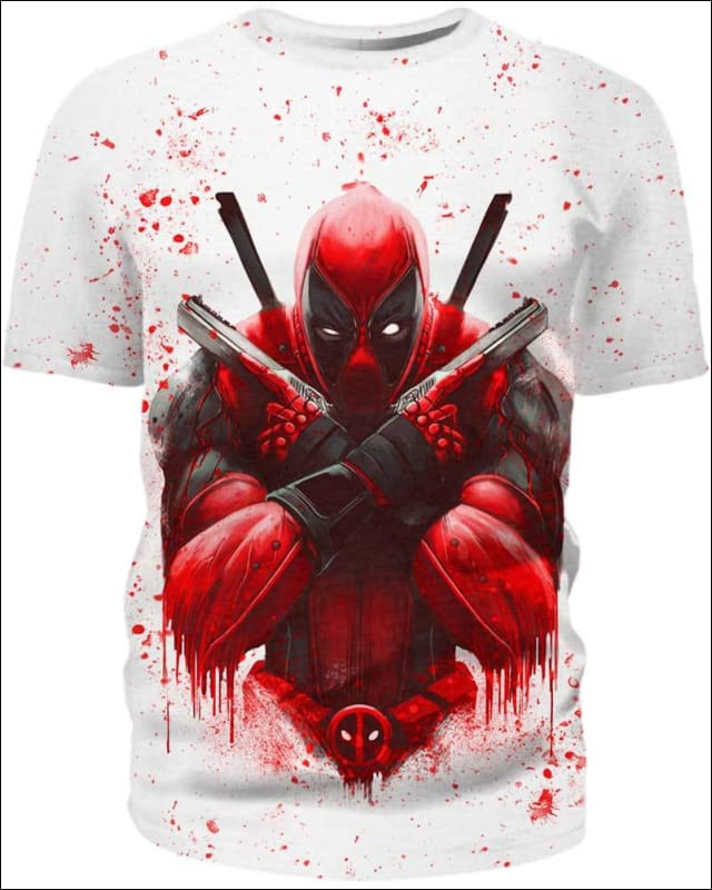 Blood Paint - All Over Apparel - Hoodie / S - www.secrettees.com