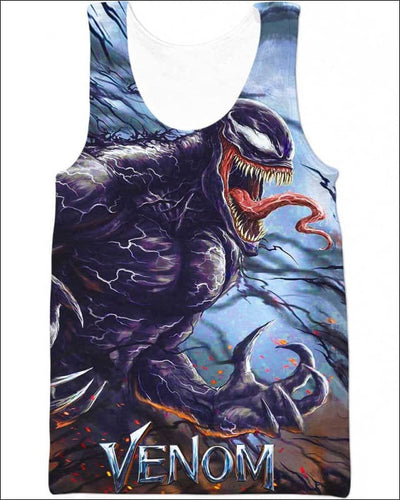 Bloodthirsty Monsters - All Over Apparel - Tank Top / S - www.secrettees.com